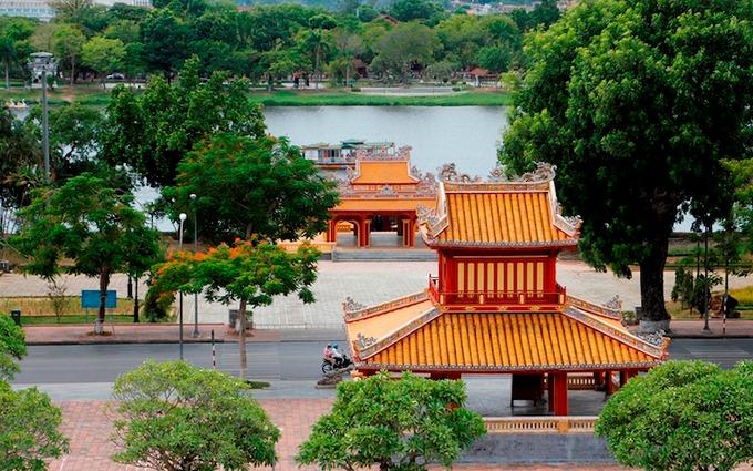 Di tích Phu Văn Lâu (Thừa Thiên Huế). Ảnh: Võ Thạnh.
