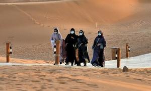 'Thiên đường' của nhà giàu Arab Saudi giữa mùa dịch