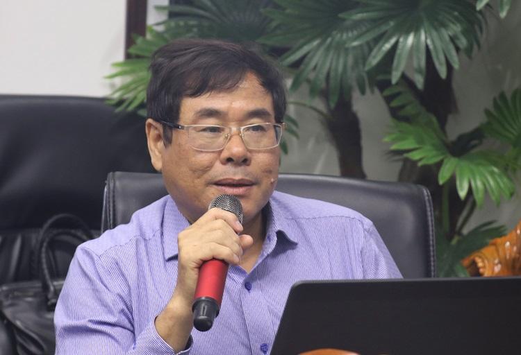 GS.TS Dương Thanh Lương, chuyên gia về thủy lợi, cấp thoát nước. Ảnh: NX.