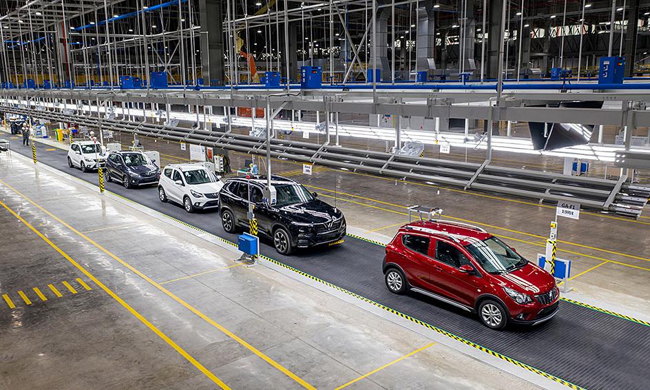 Foxconn đàm phán với VinFast sản xuất xe điện