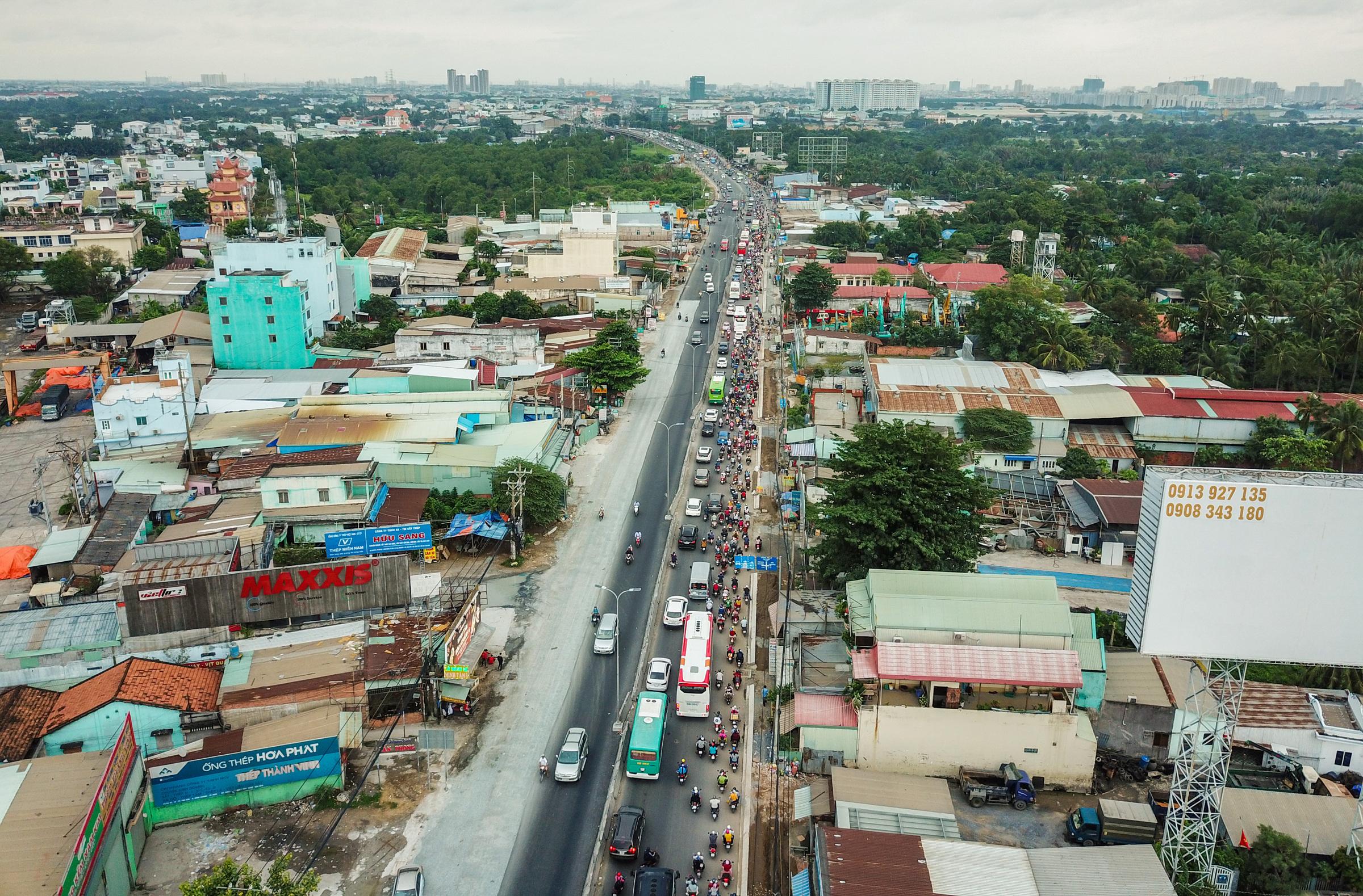 Một góc Khu vực Thị trấn Huyện Bình Chánh - TpHCM