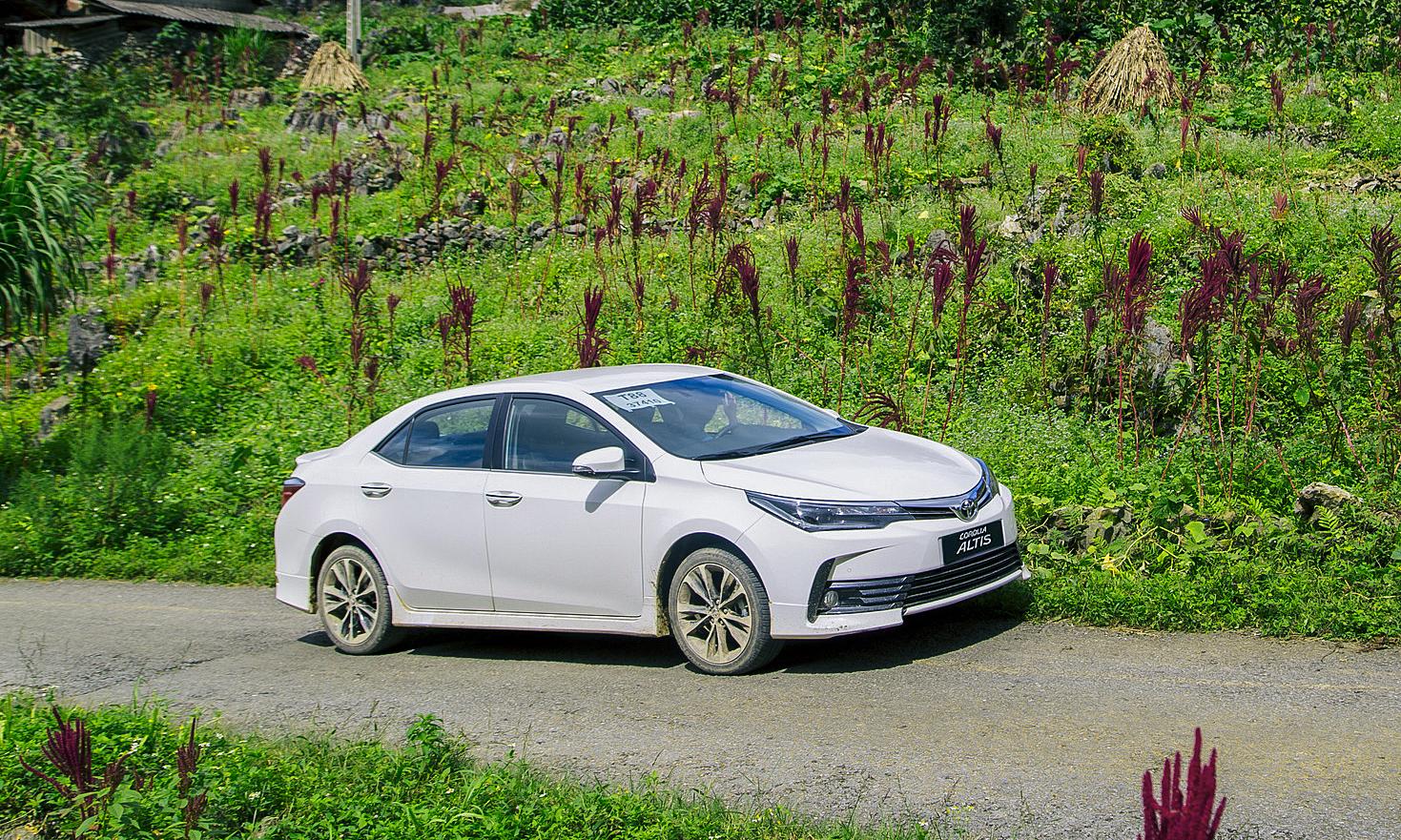 Mẫu xe trong diện triệu hồi. Ảnh: Toyota