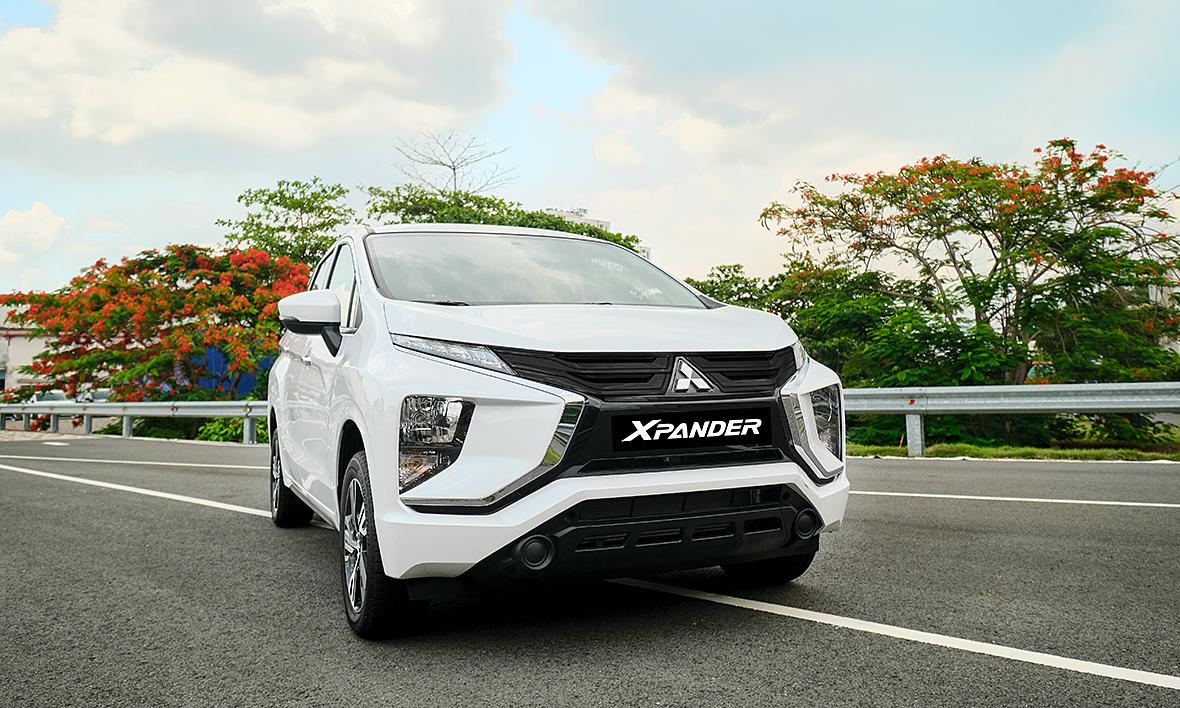 Mẫu Xpander đang được phân phối tại thị trường Việt Nam. Ảnh: Mitsubishi