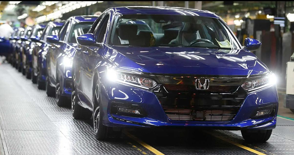 Một nhà máy sản xuất của Honda. Ảnh: Honda