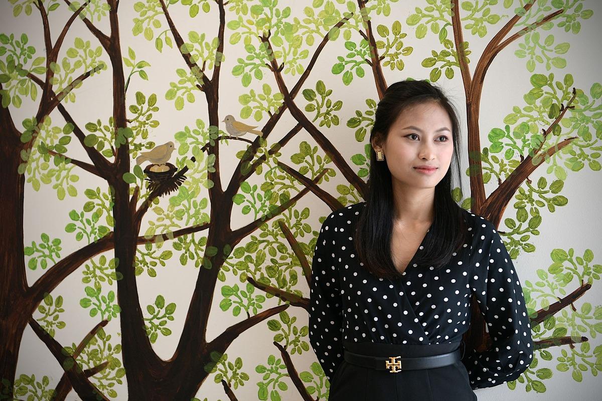 Anna Ng, cô dâu Việt lấy chồng người Singapore. Ảnh: Ng Sor Luan