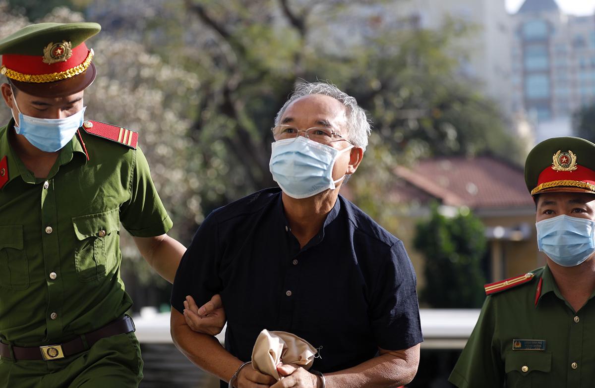 Cựu Phó chủ tịch Nguyễn Thành Tài. Ảnh: Hữu Khoa.
