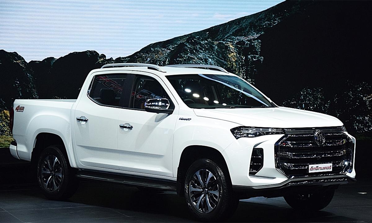 Mẫu bán tải mới MG Extender ra mắt tại Bangkok Motor Show 2021. Ảnh: Autodeft