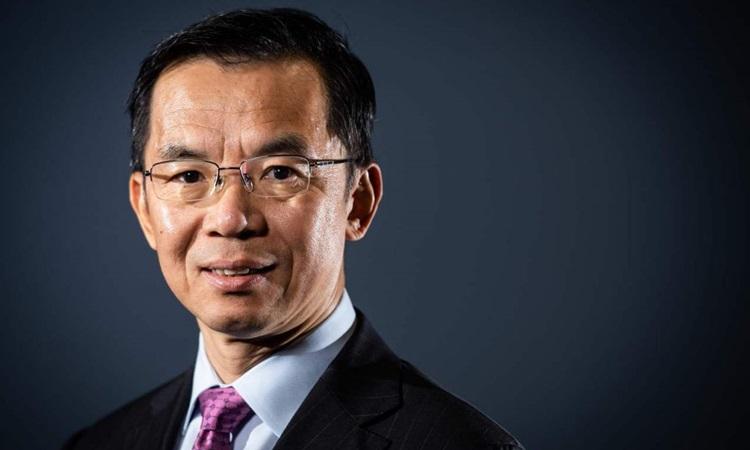 Đại sứ Trung Quốc tại Pháp Lô Sa Dã hồi năm 2019. Ảnh: AFP.