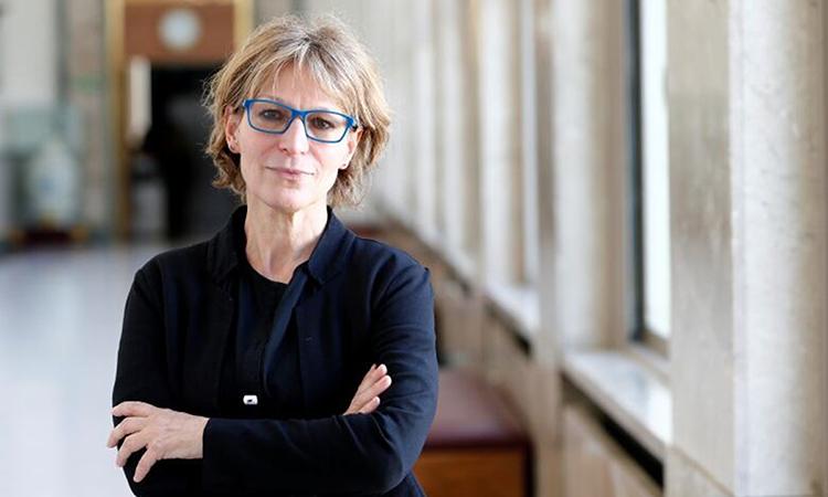 Điều tra viên Agnès Callamard sau phiên họp của Hội đồng Nhân quyền LHQ tại Geneva, Thụy Sĩ tháng 3/2019. Ảnh: Reuters.