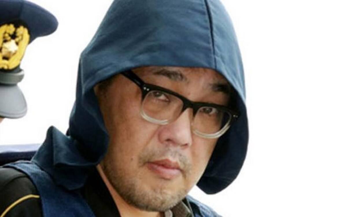 Yasumasa Shibuya, 49 tuổi, khi bị bắt giữ năm 2017. Ảnh: Reuters