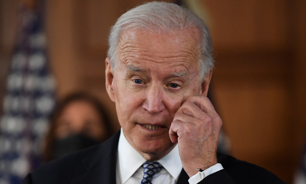 Tổng thống Mỹ Joe Biden phát biểu tại thành phố Atlanta, bang Georgia, hôm 19/3. Ảnh: AFP.