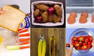 5 mẹo bảo quản thực phẩm tươi lâu