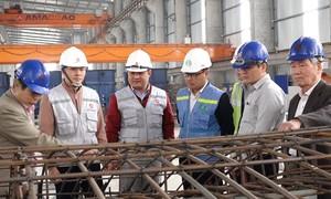 Bên trong nhà máy đúc vỏ hầm dự án Nhổn - ga Hà Nội