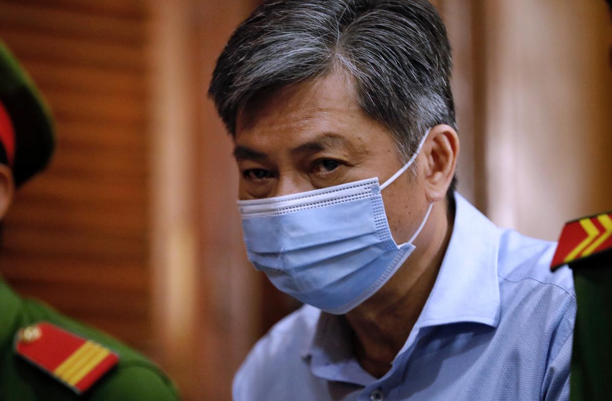 Ông Đào Anh Kiệt, nguyên Giám đốc Sở Tài nguyên - Môi trường. Ảnh: Hữu Khoa.