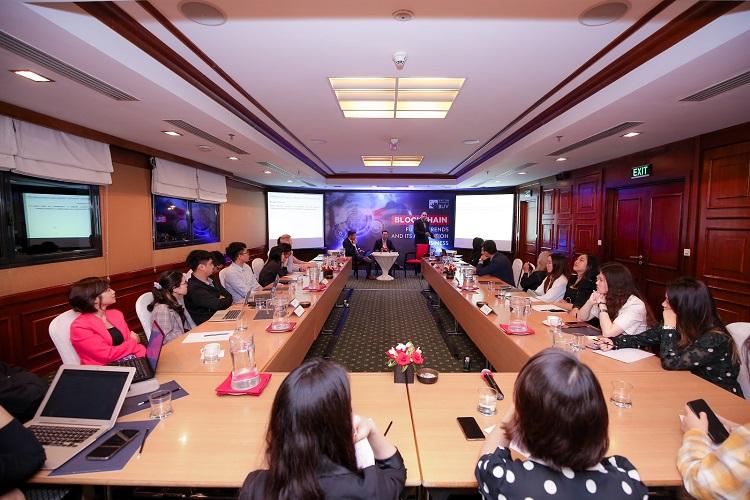 Chuyên đề về blockchain do BUV tổ chức dành cho học viên MBA.