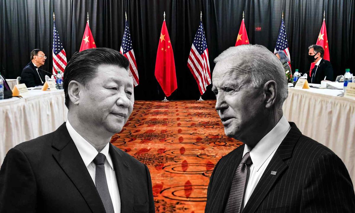 Chủ tịch Trung Quốc Tập Cận Bình và Tổng thống Mỹ Joe Biden. Ảnh: Reuters.