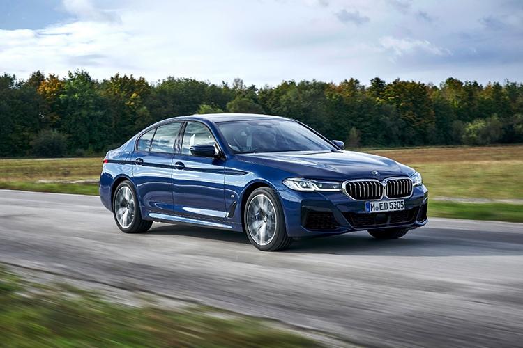 BMW 5 series phiên bản mới.