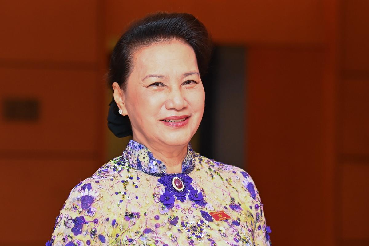 Chủ tịch Quốc hội Nguyễn Thị Kim Ngân. Ảnh: Giang Huy