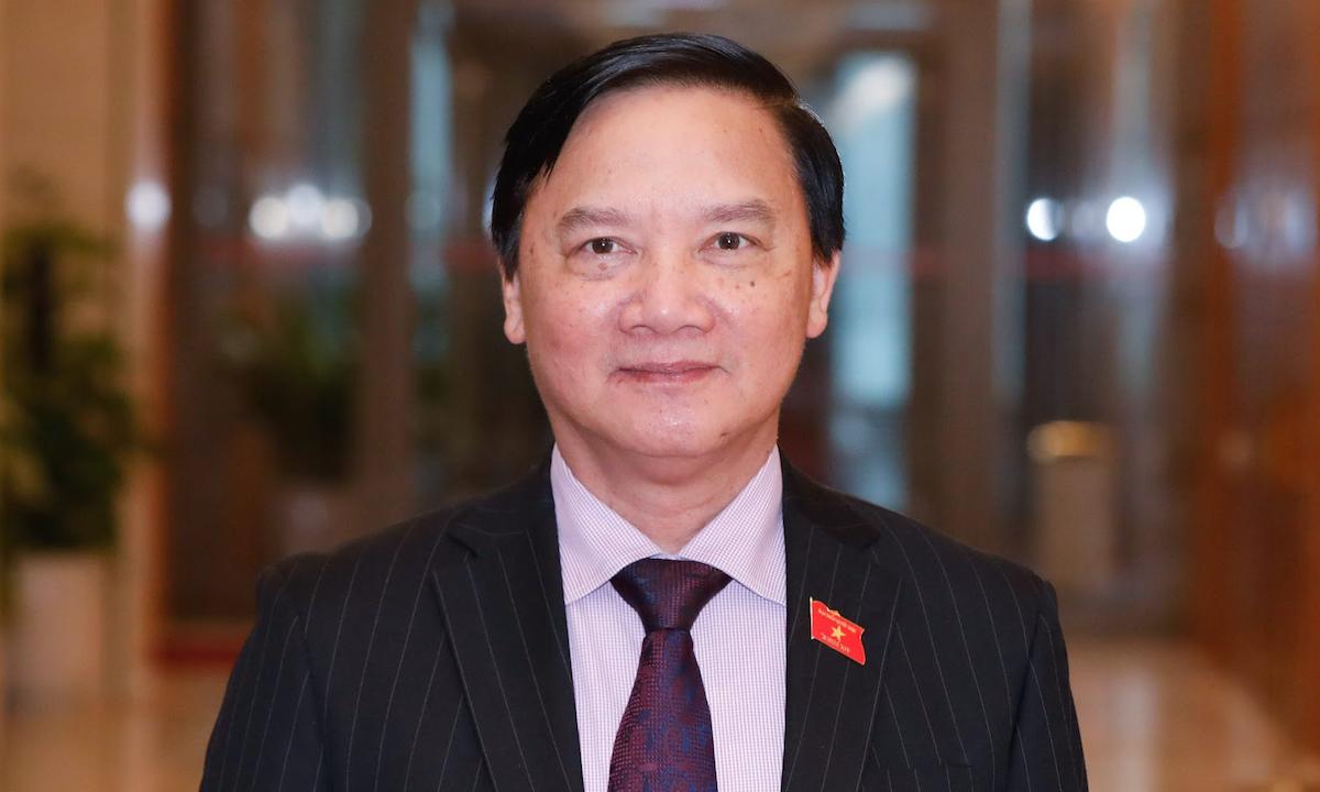 Phó Chủ tịch Quốc hội Nguyễn Khắc Định. Ảnh: Giang Huy