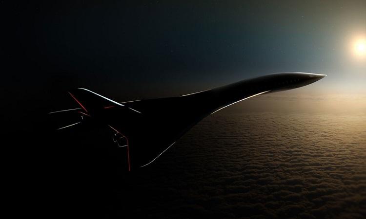 Hình dáng của máy bay siêu thanh AS3. Ảnh: Aerion.