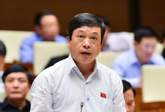 Ông Đoàn Văn Việt. Ảnh: Trung tâm báo chí Quốc hội
