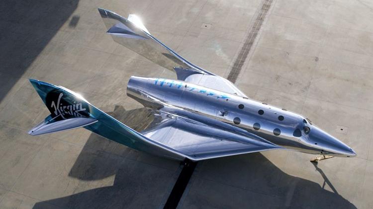 Mẫu máy bay vũ trụ mới của Virgin Galactic. Ảnh: Virgin Galactic.