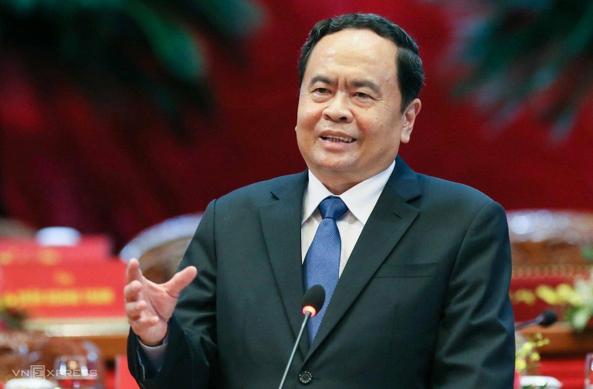 Ông Trần Thanh Mẫn, Chủ tịch Ủy ban Trung ương MTTQ VN. Ảnh: Giang Huy