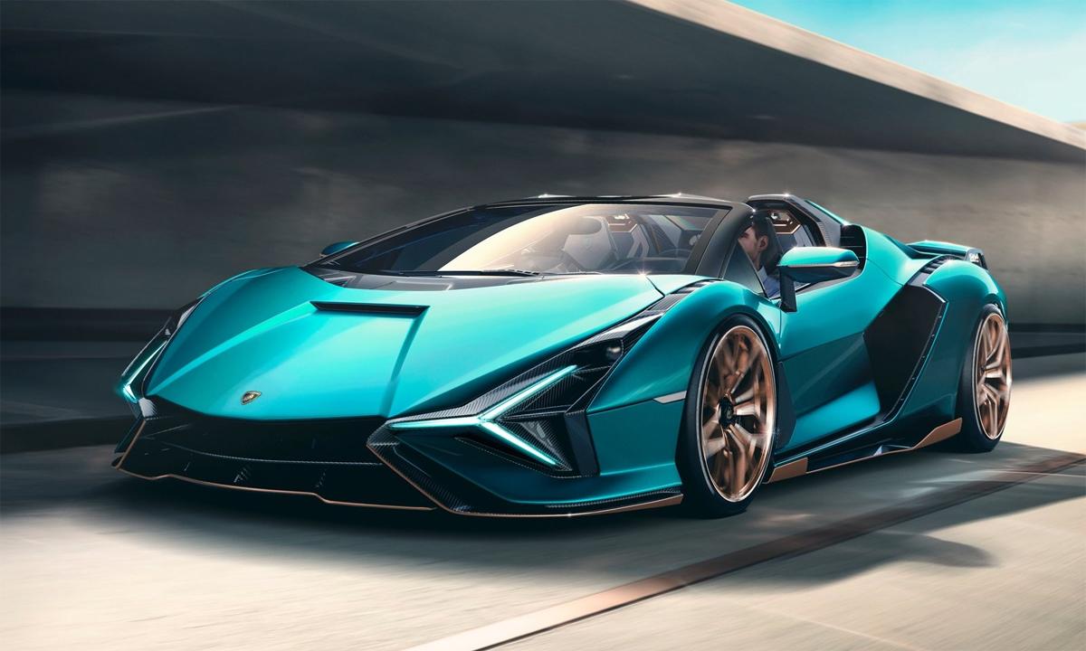 Siêu xe mui trần Lamborghini Sián giá khoảng 3,7 triệu USD chỉ có 19 chiếc được sản xuất và đều đã có chủ. Ảnh: Lamborghini