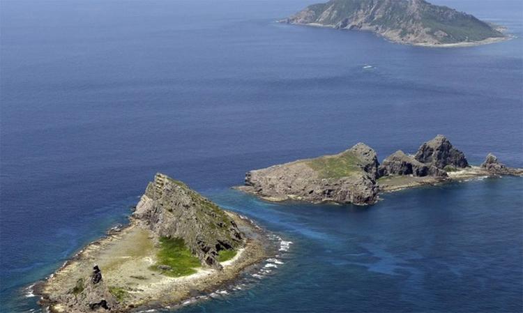 Nhóm đảo Senkaku/Điếu Ngư do Nhật Bản kiểm soát và Trung Quốc tuyên bố chủ quyền. Ảnh: Kyodo.