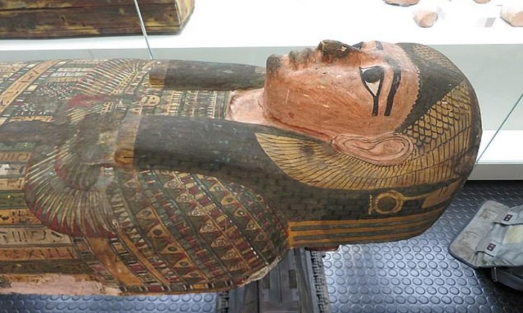 Xác ướp 2.600 năm của Takabuti. Ảnh: Rosalie David.