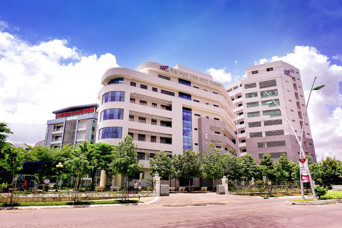 Cơ sở chính trường Đại học Tôn Đức Thắng tại quận 7, TP HCM. Ảnh: TDTU.
