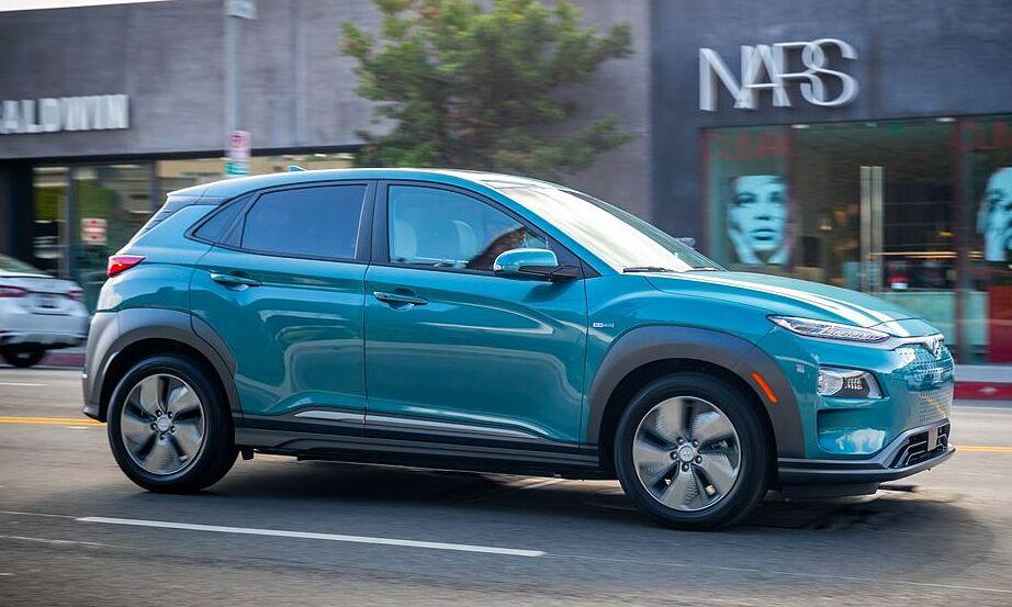 Mẫu Hyundai Kona chạy điện trong diện triệu hồi. Ảnh: Hyundai