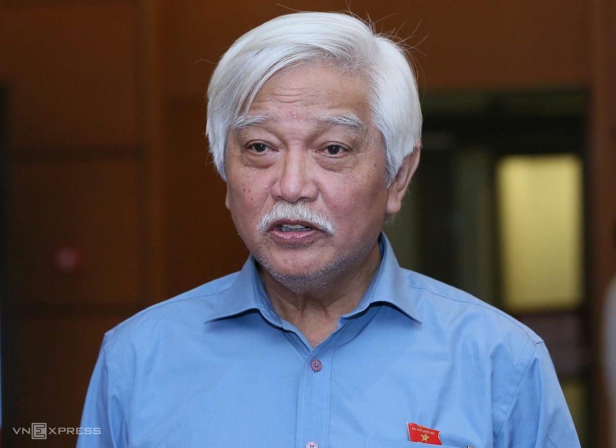 Đại biểu Quốc hội Dương Trung Quốc. Ảnh: Hoàng Phong
