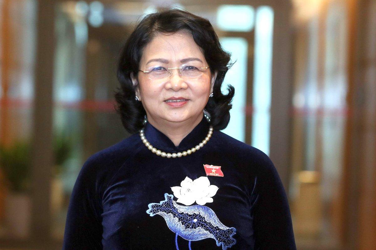 Phó chủ tịch nước Đặng Thị Ngọc Thịnh. Ảnh: Hoàng Phong
