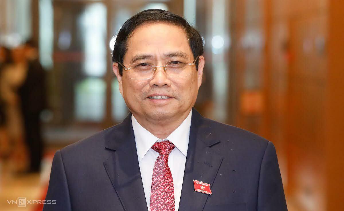 Trưởng Ban Tổ chức Trung ương Phạm Minh Chính được đề cử để Quốc hội bầu làm Thủ tướng. Ảnh: Giang Huy