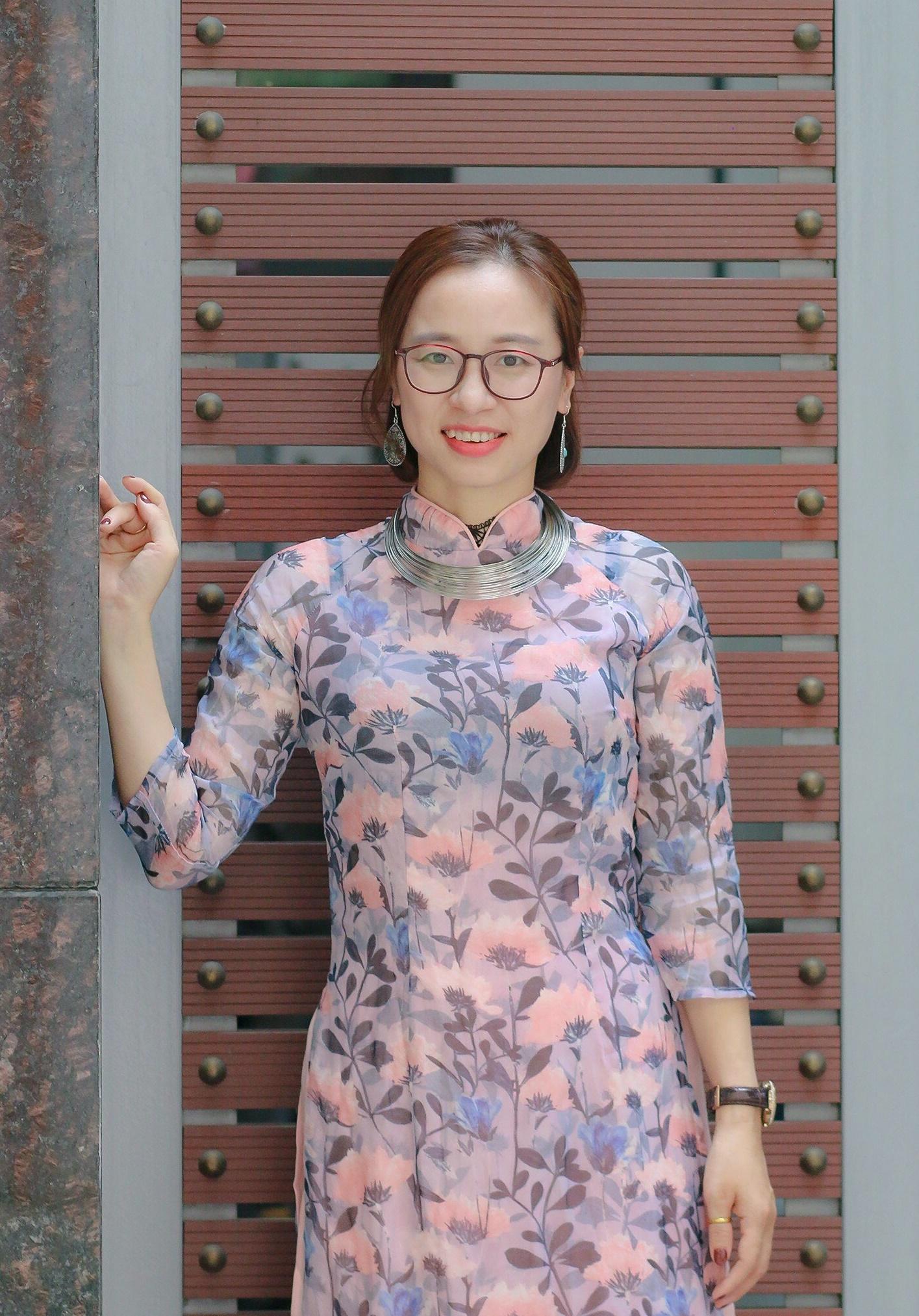 Cô Nguyễn Thị Phương, giảng viên trường Cao đẳng Sư phạm Trung ương. Ảnh: Nhân vật cung cấp