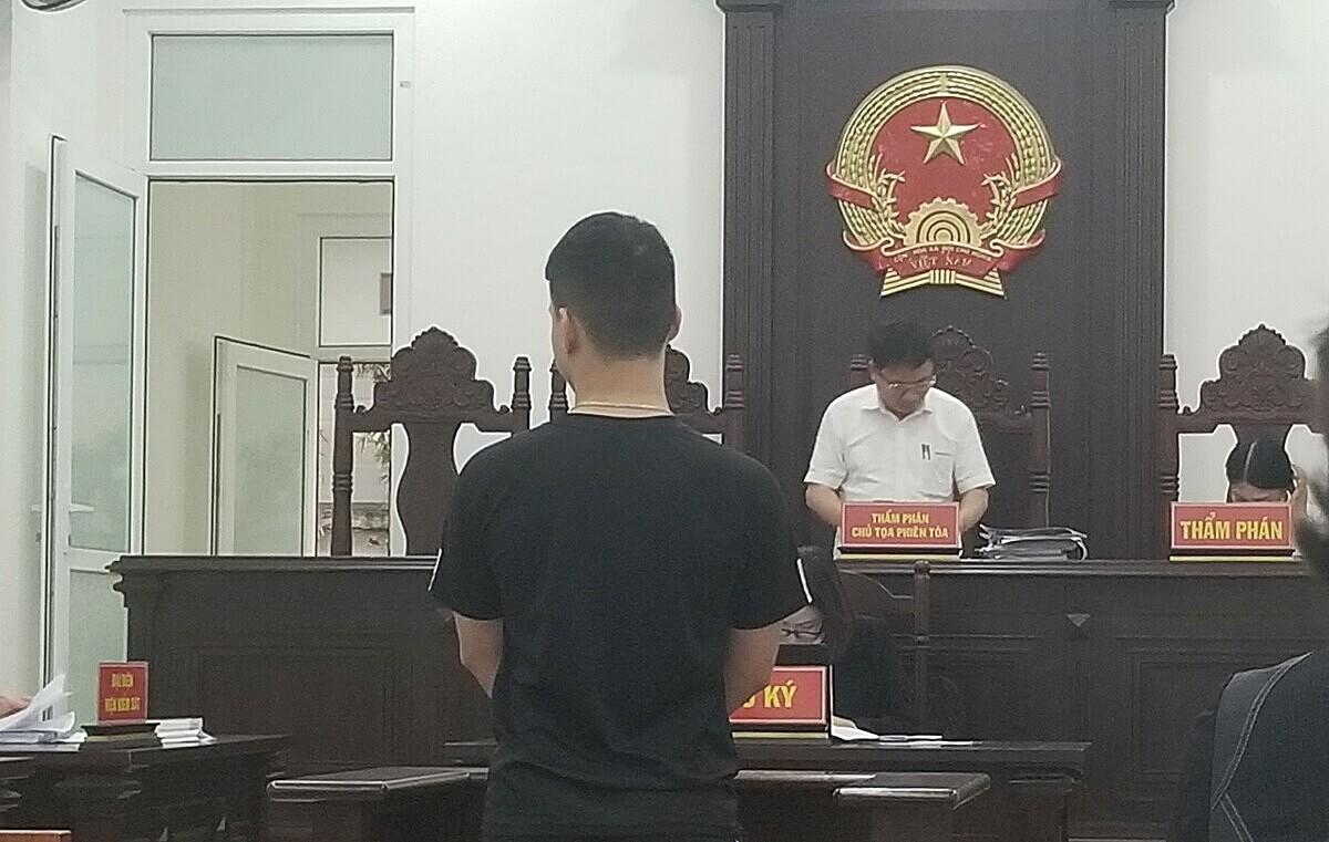 Bị cáo Trí tại phiên tào phúc thẩm. Ảnh: Hải Thư
