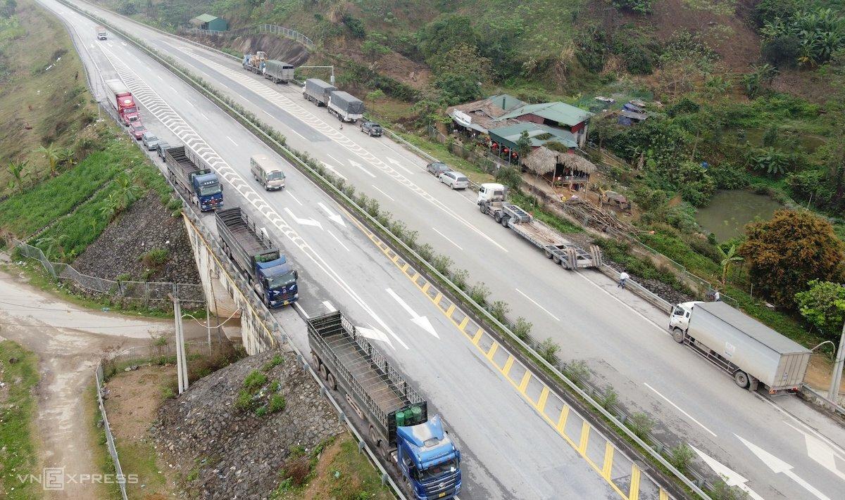 Cao tốc Hà Nội - Lào Cai. Ảnh: Anh Phú