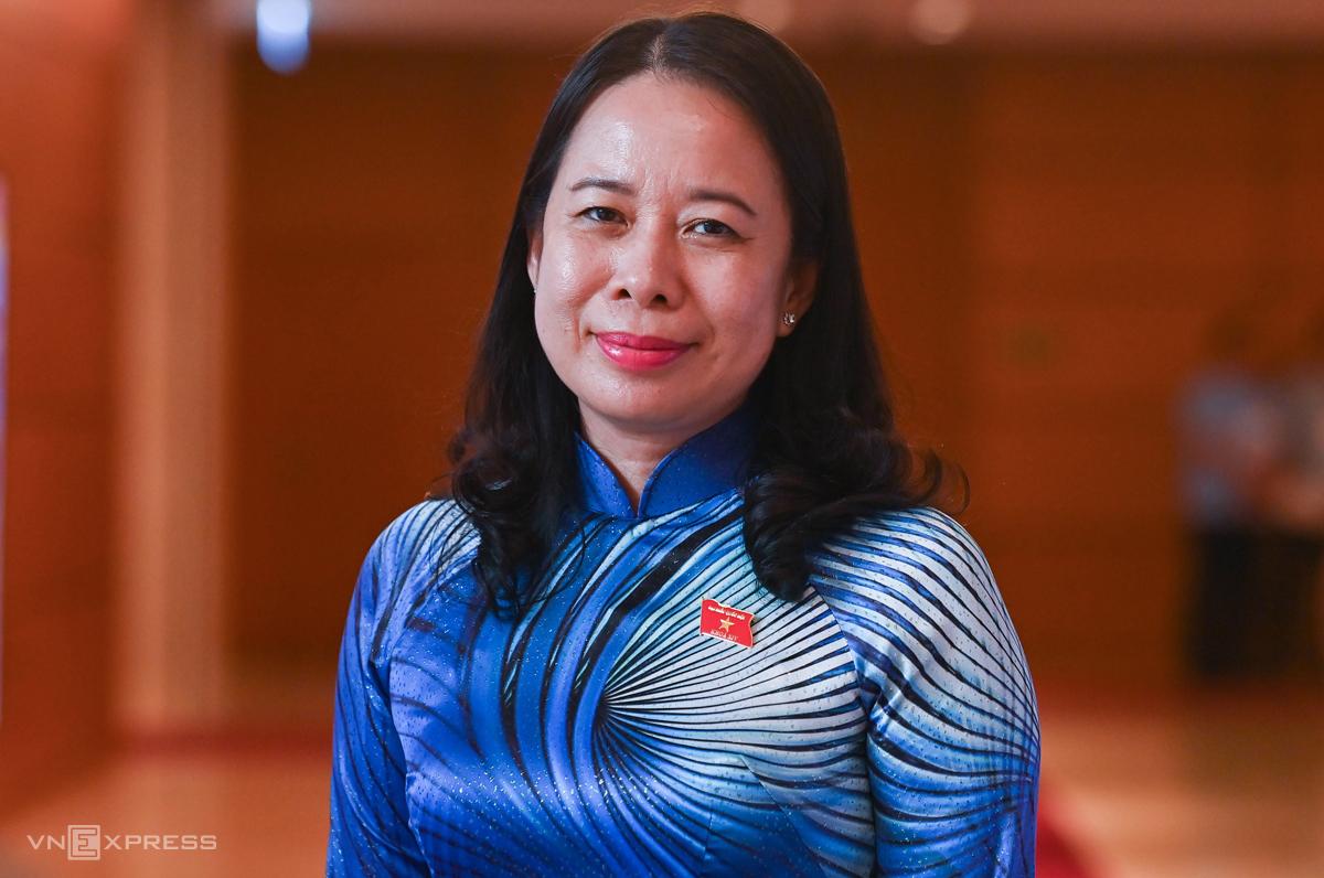 Bà Võ Thị Ánh Xuân, Ủy viên Trung ương Đảng, Bí thư Tỉnh ủy An Giang. Ảnh: Giang Huy