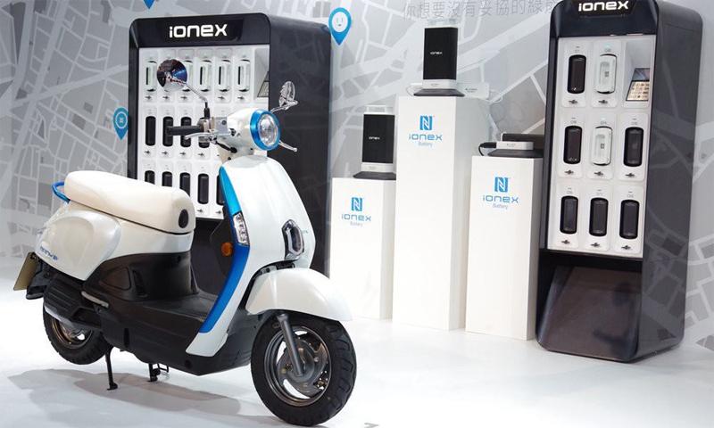 Ionex - thương hiệu mới thuộc Kymco. Ảnh: Kymco