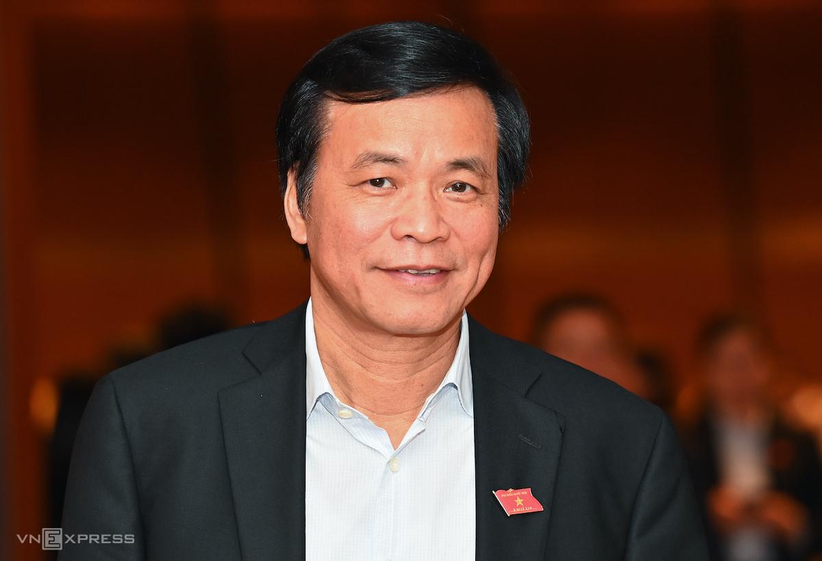 Tổng thư ký, Chủ nhiệm Văn phòng Quốc hội. Ảnh: Giang Huy