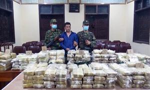 Đường dây vận chuyển hàng trăm kg ma túy bị triệt phá