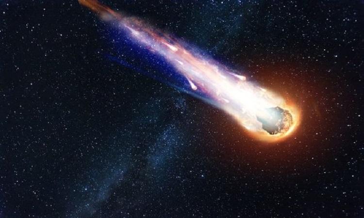 Mô phỏng tiểu hành tinh lao nhanh trong vũ trụ. Ảnh: iStock.