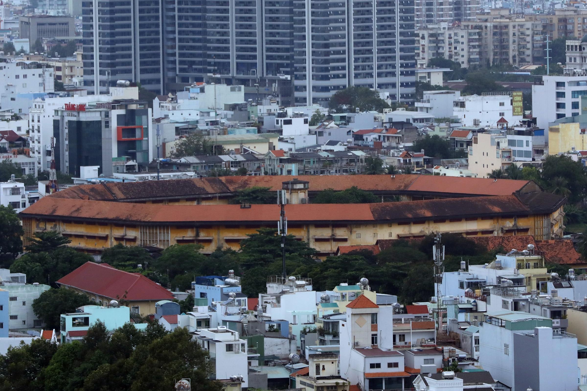 Trại tạm giam Chí Hòa, quận 10, tháng 12/2019. Ảnh: Hữu Khoa.
