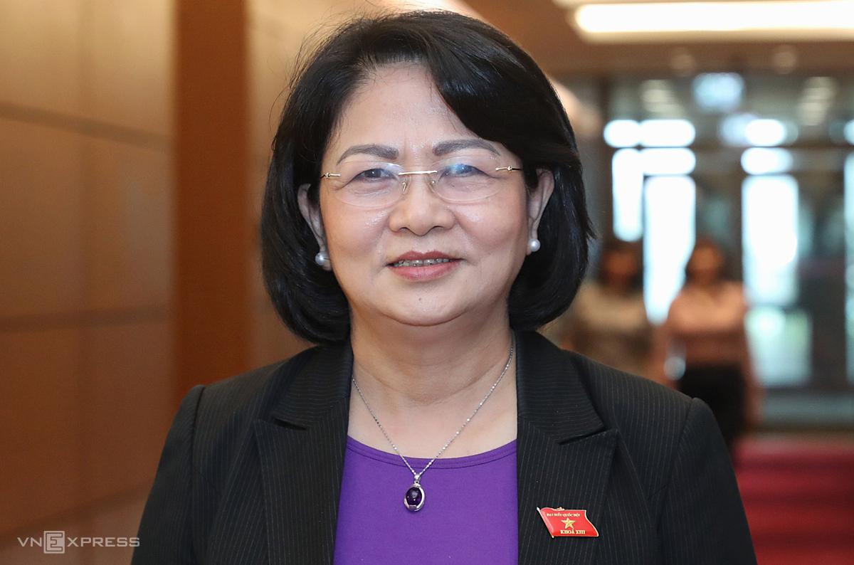 Nguyên Phó chủ tịch nước Đặng Thị Ngọc Thịnh. Ảnh: Giang Huy