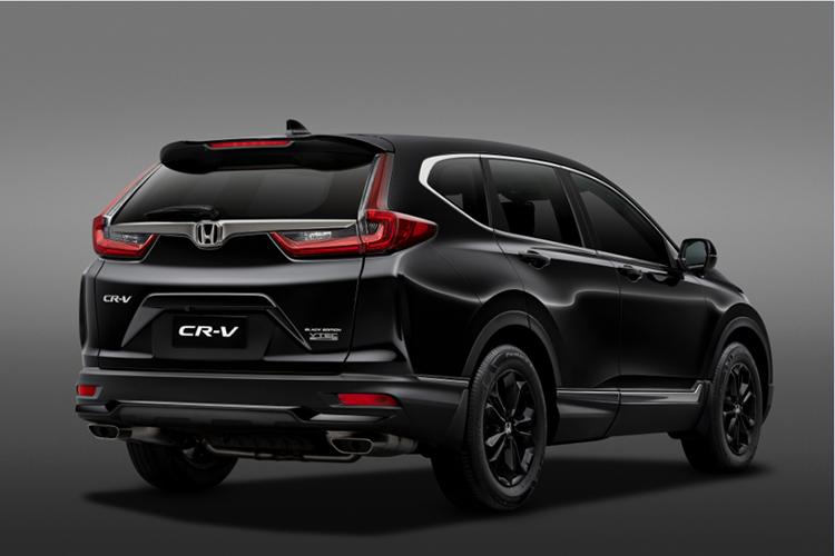 CR-V LSE có nhiều chi tiết sơn đen tạo chất thể thao.
