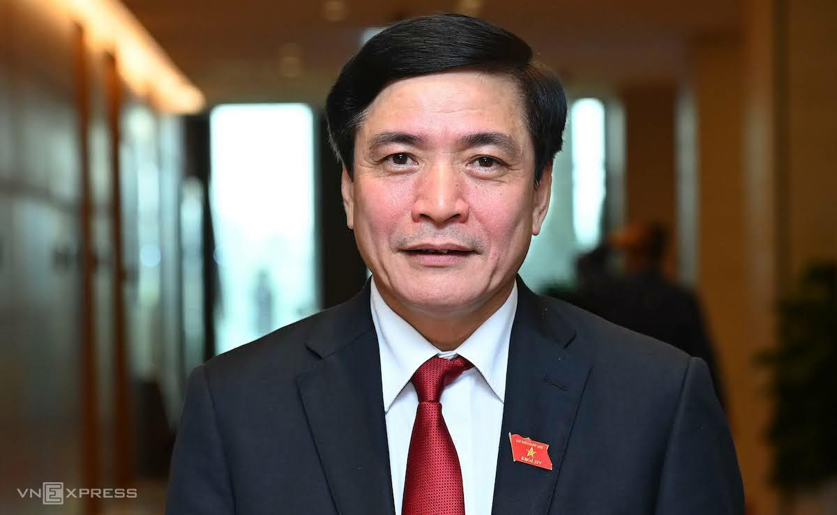 Bí thư Tỉnh ủy Đắk Lắk Bùi Văn Cường được đề cử làm Tổng thư ký Quốc hội. Ảnh: Giang Huy