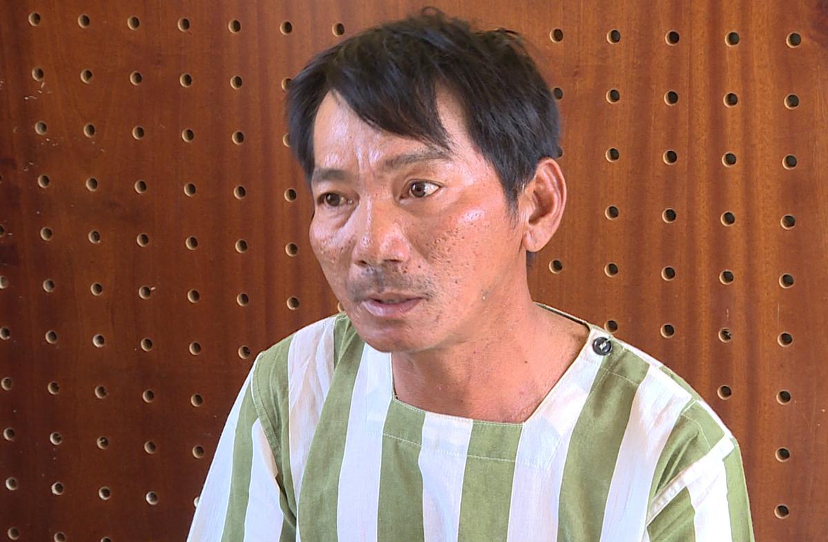 Vũ tại Công an tỉnh Bà Rịa - Vũng Tàu. Ảnh: Quang Bình.