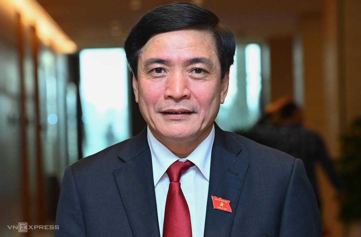 Bí thư Tỉnh ủy Đắk Lắk Bùi Văn Cường. Ảnh: Giang Huy