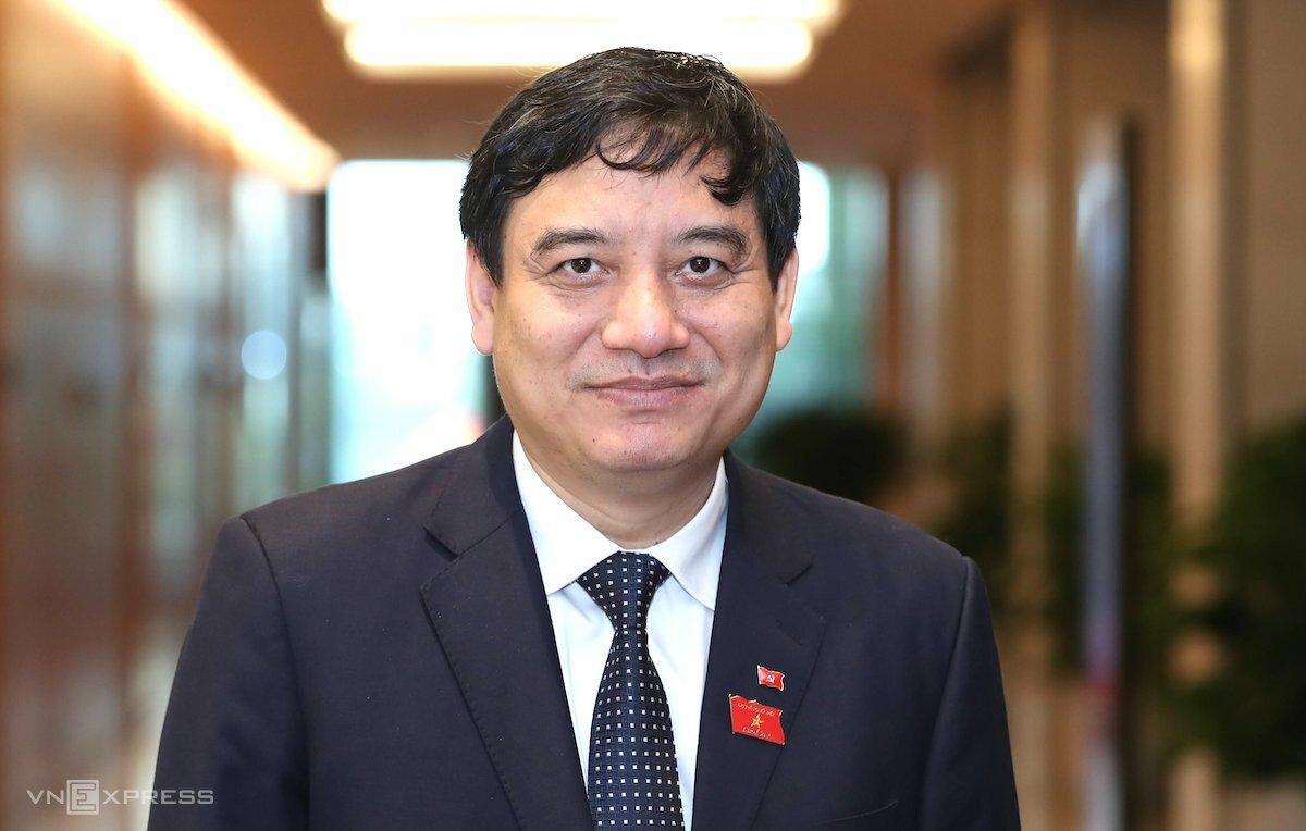 Ông Nguyễn Đắc Vinh, tân Chủ nhiệm Uỷ ban Văn hóa Giáo dục Thanh niên Thiếu niên Nhi đồng của Quốc hội. Ảnh: Giang Huy